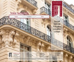 Nemrod Immobilier - Home page