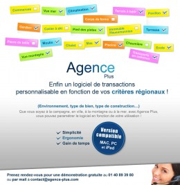 Emailing Agence Plus - Rgions