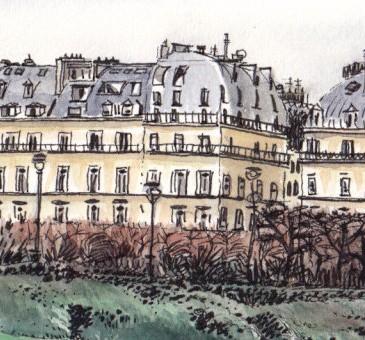 Image à la une - Vue de l'Ecole du Louvre
