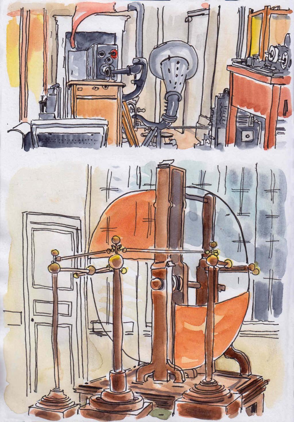 Musée des Arts et Métiers, Salle des Communications