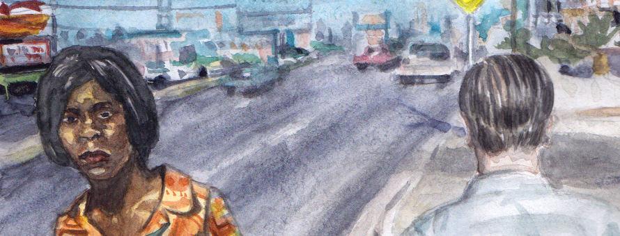 Image à la une - Etude à l'aquarelle - william-eggleston