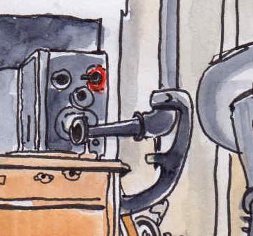 Image à la une, Musée des Arts et Métiers, Salle des Communications