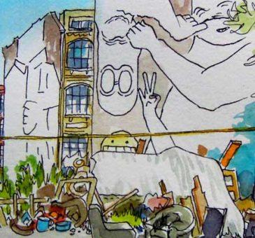 Berlin quartier Est-Image à la une