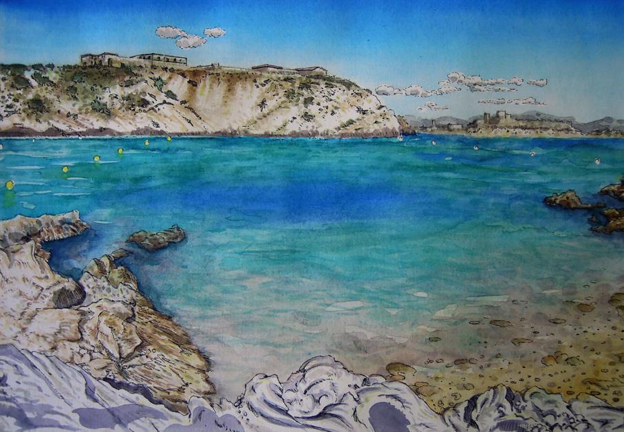 L'île du Frioul, Marseilles
