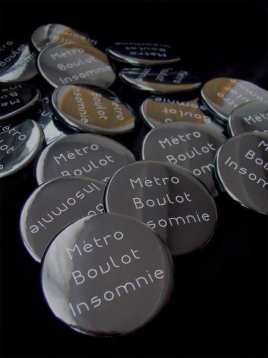 Métro Boulot Insomnie. Photo